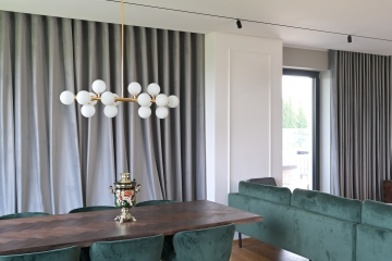 Interiér bytu v Hlubočepích